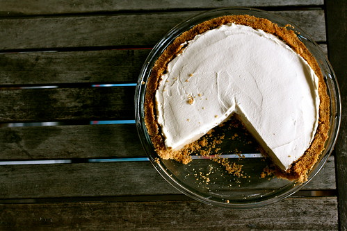 Butterscotch-Bourbon Cream Pie