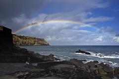 Rainbow land... (Joe Taruga) Tags: sea portugal rain clouds geotagged island mar rainbow chuva nuvens arcoris ilha azores aores pontadelgada smiguel santoantonio robertmotherwell jorgecardoso geo:lat=3786434738571027 geo:lon=256998295069542