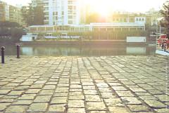 Yo vi el Sol (Alejandro (L Delfos)) Tags: rio atardecer li sevilla guadalquivir seville paseo urbano delfos l
