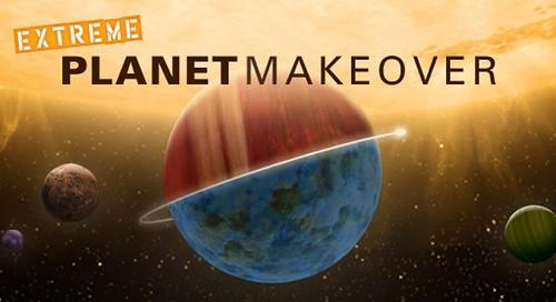 Jugando a crear planetas