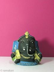 (ramakan) Tags: ganesha natural terracotta lord days 365 dye handcolored pillayar vinayagar ganapathi