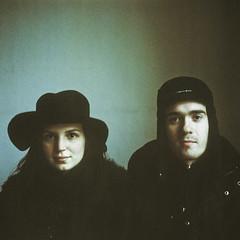 Natasha & Harry (heddar) Tags: portrait analog mediumformat hasselblad diapositive mellanformat