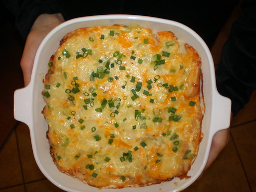 Triple Cheese and Onion Strata