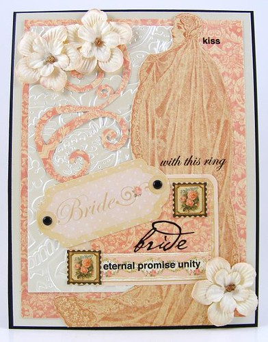 With This Ring Bride Card