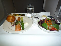 BA Club World Smoked Salmon Appetizer