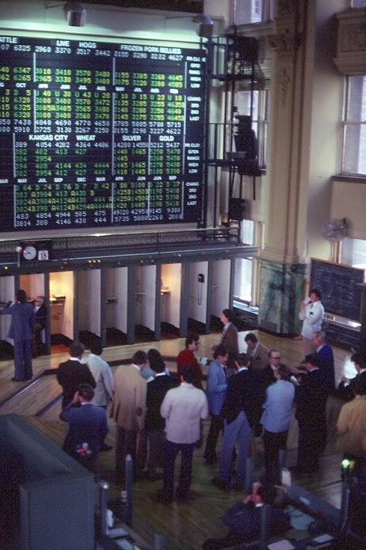 Minneapolis Grain Exchange Trading Floor, Minnesota, Minneapolis