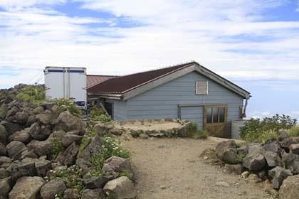 鳥海山の山小屋