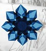8 Sided Blue Star