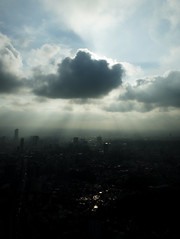 Tokyo Afternoon (shinnygogo) Tags: summer cloud sun japan cityscape afternoon hdr 2010 picturenaut tokyoroppongi
