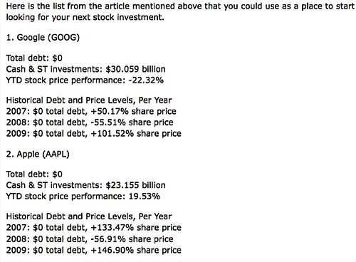no-debt-stocks