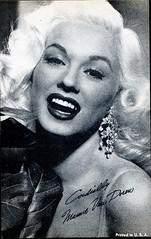 Mamie Van Doren (S_Crews) Tags: vintage postcard mamievandoren bmoviequeen