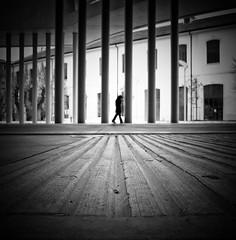 """""""MAXXI Solitude"""" (Arianna_M(busy)) Tags: rome roma museum architecture del solitude italia loneliness culture bn arti museo architettura cultura solitario xxi zahahadid nazionale solitudine delle maxxi secolo contemporaneit"""