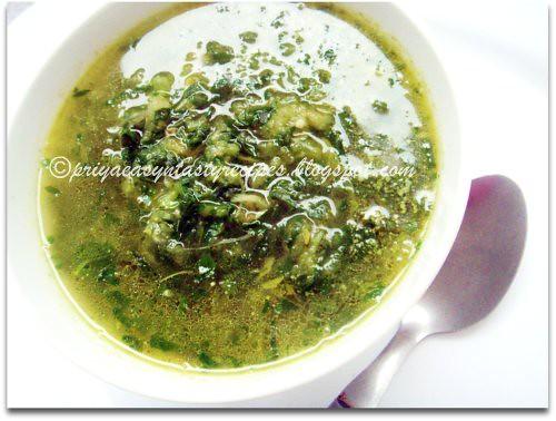 Celery oats Soup