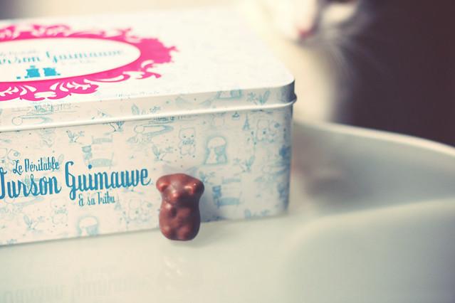 Le véritable petit ourson guimauve