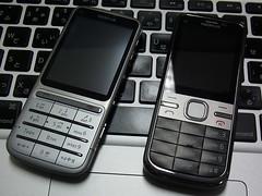 Nokia C3-01 & Nokia C5-00