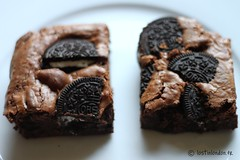 oreo brownie (fabienne & co) Tags: food recipe dessert yummy chocolate delicious biscuit brownie oreo decadence chocolat recette