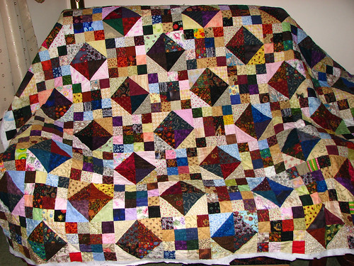 jacobs ladder quilted