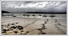 Upnor Marina (Steve's Photography :-)) Tags: uk sea sky seaweed clouds marina boats kent nikon mud tripod streams yachts d200 medway upnor photomatix cs5 5shothdr steveclancy mygearandme