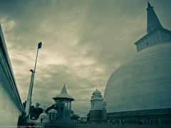 Дагоба и монах