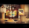 Day 23 - Coffee Splash {FP} (Will (Certified Ninja)) Tags: foodporn splash cinnamonroll project365 canonef85mmf18usm strobist canon50d canonspeedlight canon580exii setupphoto canon430exii coffeesplash ourdailychallenge stewardphotography
