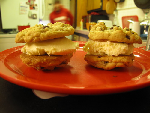 cookie sandwich mmm!