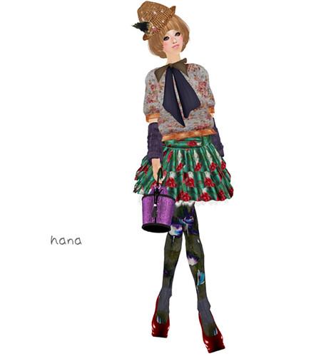 :pesca:rose skirt(LB)