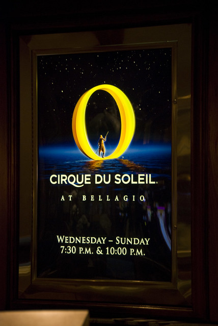 D2 bellagio O sign