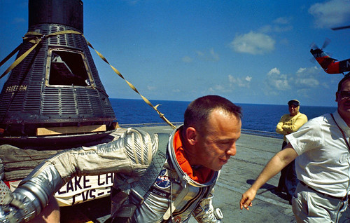 FREEDOM 7 / ALAN SHEPARD RECOVERY