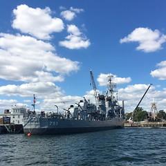 USS Cassin Young (mistdog) Tags: boston harbour uss cassinyoung destroyer gunship photoscapex