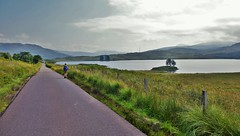 The Road To Inversnaid (brightondj - getting the most from a cheap compact) Tags: inversnaid trossachs scotland thirdwalk loch water mountains locharklet coach road child stronachlachar