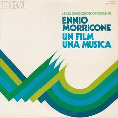 Ennio Morricone - Un film una musica (oopswhoops) Tags: vinyl album italian soundtrack morricone rca