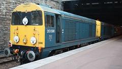 20160910 - 9577 - GBRf - 15 Tour - 20096 & 20107 - rear of 1600 Inverness to Edinburgh Waverley via Shields Road - Perth (Paul A Weston) Tags: gbrf gbrf15tour perth 2009620107 1600invernesstoedinburghwaverley saturday