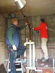 renovatie verwarmingsketel kerk stompwijk