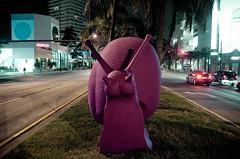 Pink Snails (Cruz__) Tags: miamibeach crackingartgroup pinksnails galleriacadoro regenerationartproject