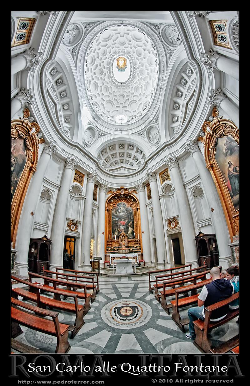 Roma - San Carlo alle Quattro Fontane