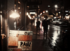 [213/365] Raw Canvas (ng.kelven) Tags: night vancouver raw bokeh canvas eat 365 35mmf14 canon5dmarkii