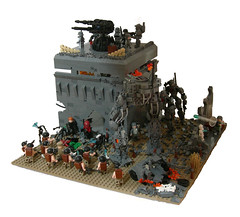 The Retaking of Outpost LJ-42 (~Tac~) Tags: lego wwii worldwarii resistance weirdwarii