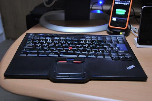 Lenovo ThinkPlus USBトラベルキーボード ウルトラナビ付