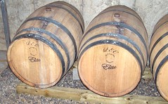 Barrels (Will S.) Tags: ontario canada field vineyard vines wine barrels winery vineyards wellington fields mypics wineries princeedwardcounty hillier wassail thecounty wassailing hilliercreekestates hilliercreekestateswinery