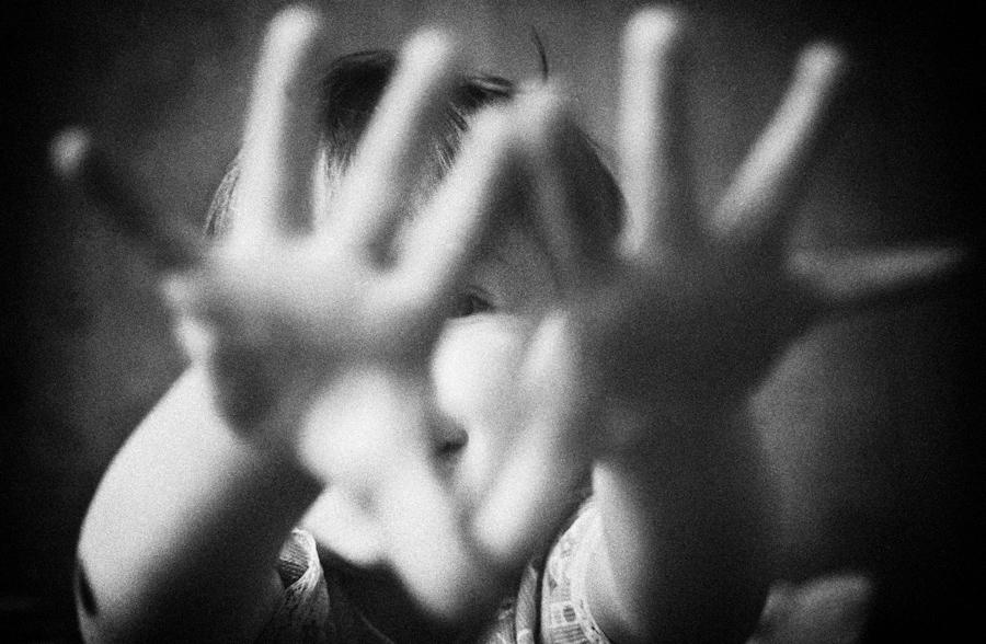 Portrait baby daughter 1997 © Photo by Alexander Kondakov