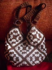 bolso de ganchillo crochet (Azu_Baron) Tags: crochet granny bolso ganchillo