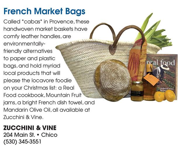 Zucchini & Vine Gift Guide Ad
