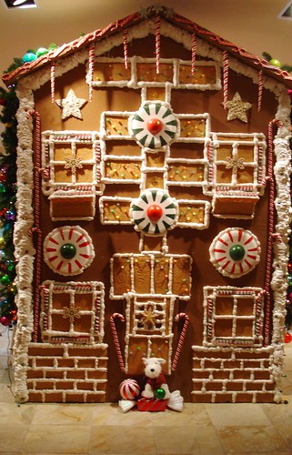Gingerbread house - real life