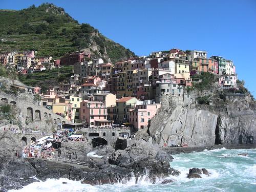 Cinque Terre – vesnice na útesech