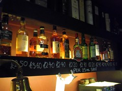 whiskies in the Devonshire