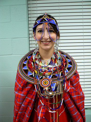 Maasai Costume