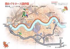 粟又の滝 滝巡りコース遊歩道