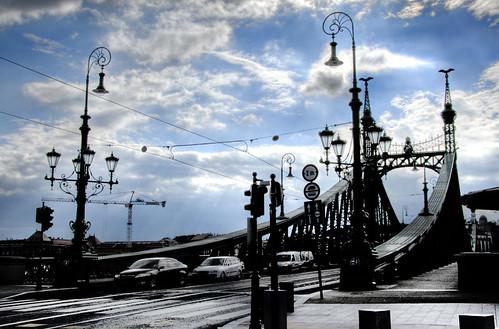 Liberty bridge. Budapest. Puente de la Libertad