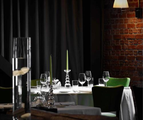Mesa del Restaurante Yandiola - Bilbao
