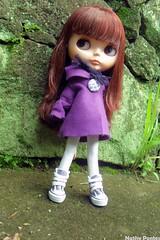 (Nathalia Pontes) Tags: scarf star doll all peace purple crochet button blythe feltro bp bohemian rbl